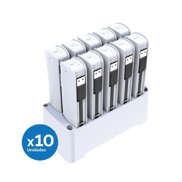 Kit de 10 barras recarga de celulares
